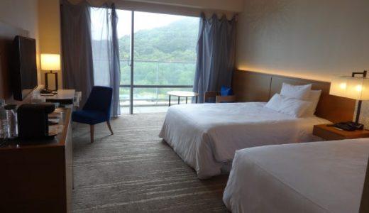 『ウェスティンホテル淡路②』子連れ旅行 ホテルの部屋(デラックスツイン)