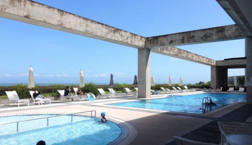 『グランドニッコー淡路(旧ウェスティンホテル淡路)①』プールが最高!室内プールは、雨の日でも夏季以外でも楽しめる!