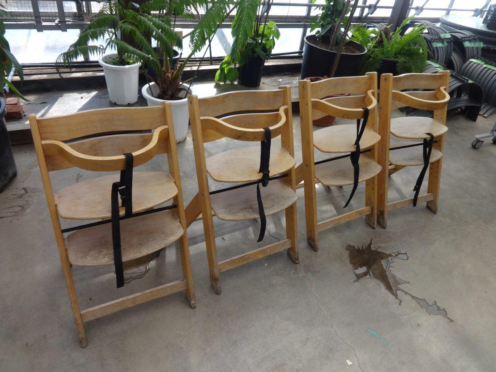 子供用の席
