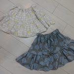 女の子 フレアスカート