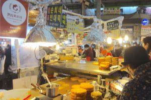 広蔵市場 緑豆チヂミ