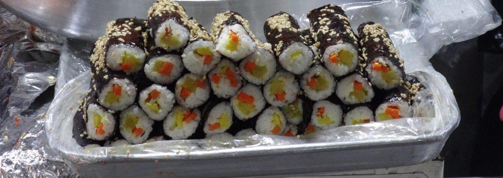 広蔵市場 カンジャンシジャン キンパ