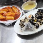 広蔵市場 朝食 トッポギ チヂミ