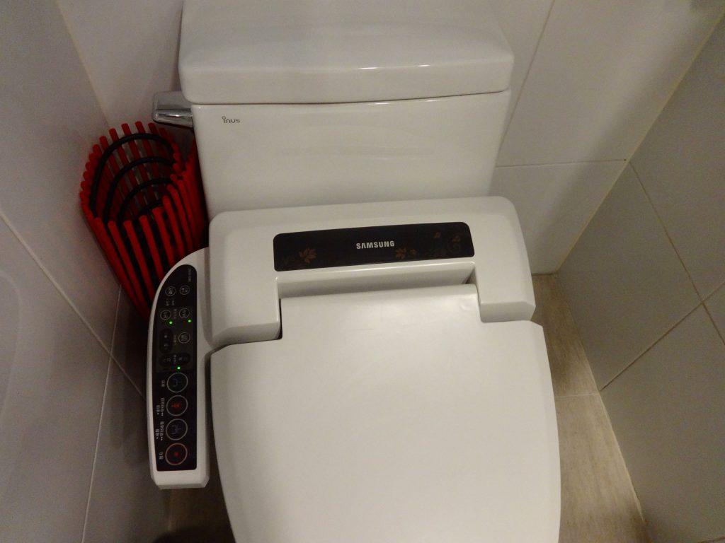 ホテルべニューg 客室トイレ