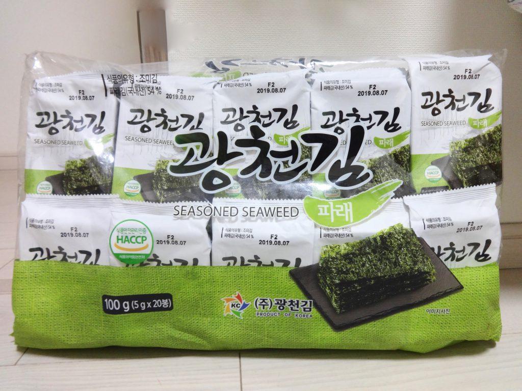 20個入り 韓国海苔 ばらまき用