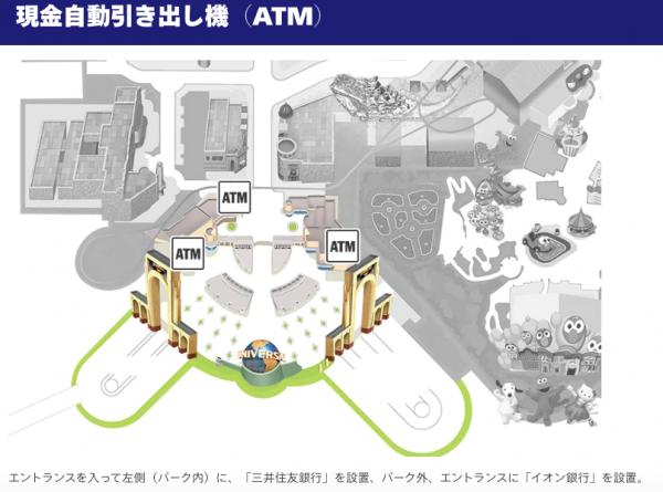 USJ 銀行ATM