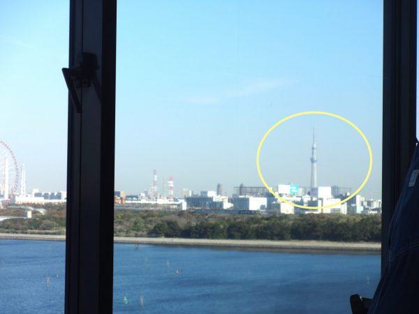 サンルートホテル東京プレジャープレミアムルーム 専用朝食会場 スカイツリー