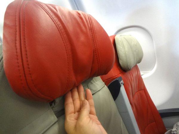 エアアジア 機内 座席 様子