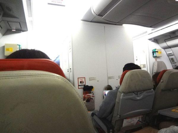 エアアジア 機内