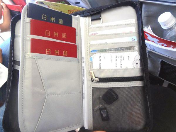家族用 パスポートケース入れ