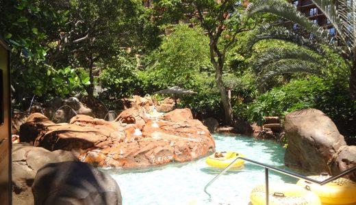 アウラニディズニーリゾート 流れるプールを紹介!大人も子供も楽しめます。