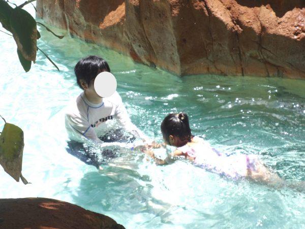 アウラニ・リゾート・プール 流れるプール