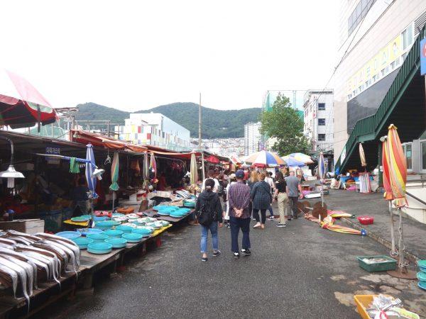 釜山 南浦洞 チャガルチ市場