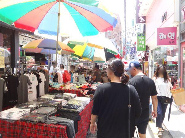 釜山 南浦洞 国際市場