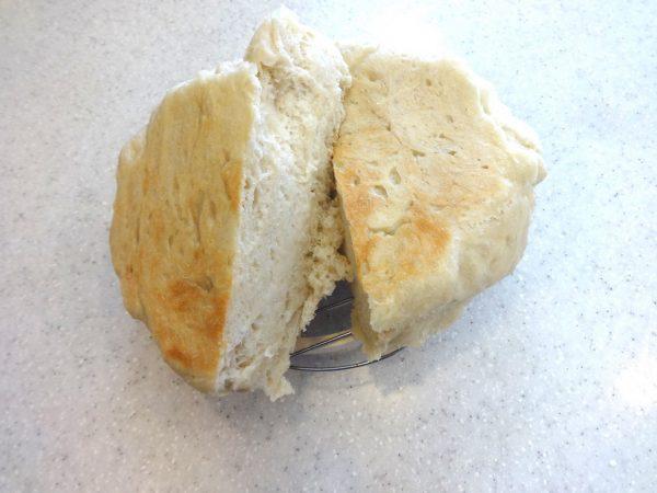 HALムスイ無水鍋 パン 焼く
