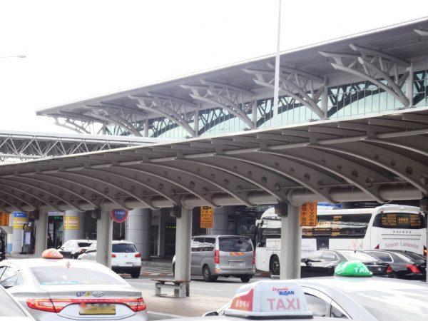 釜山 金海国際空港 タクシー