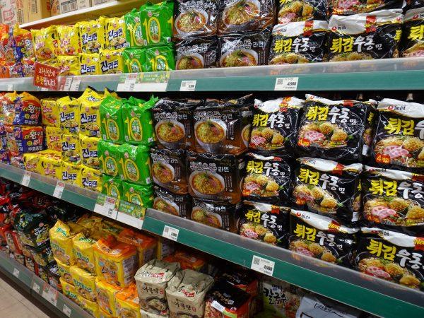 釜山 西面 大型スーパー