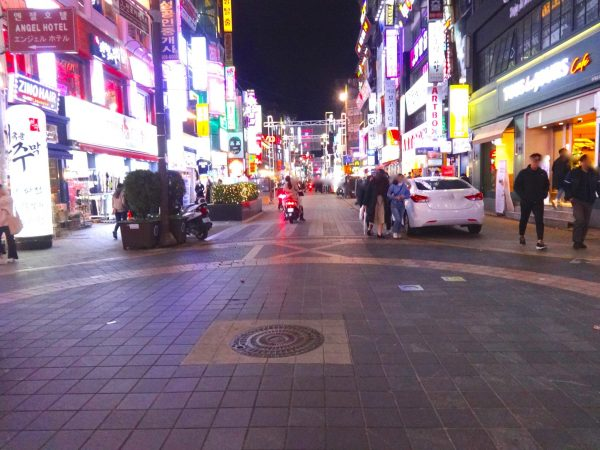 釜山 西面 ヤングストリート