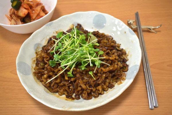 ジャージャー麺 韓国スーパー 購入品