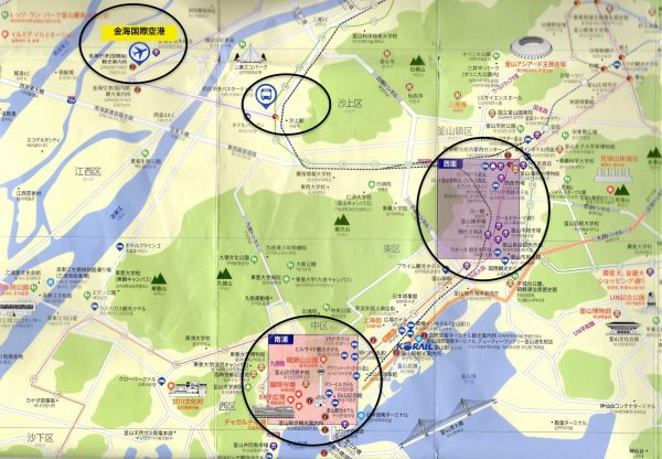 釜山 地図