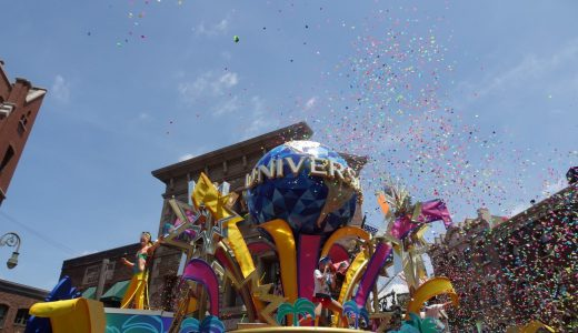 【USJ】ユニバーサル・サマー・パレード 2020夏のパレードをソーシャルディスダンスで楽しみました!