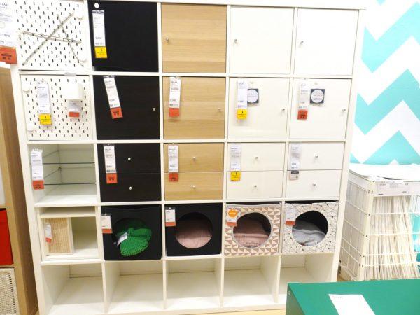 IKEA シェルフユニット 収納カラーボックス