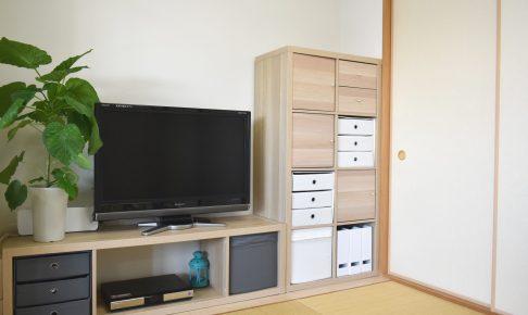 IKEA 和室 テレビ台 収納 カラックス