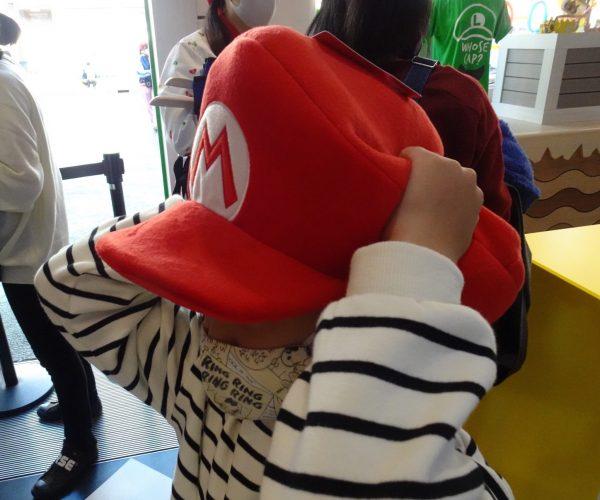 USJ マリオ・カフェ&ストア マリオ帽子