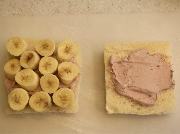 フルーツサンド バナナ ココア