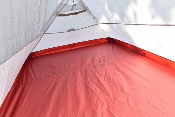 ネイチャーハイク「Hiby3」テントの中