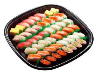 かっぱ寿司 お持ちり 華やかセット4人前