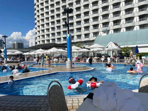 神戸ポートピアホテルの70cm子供用プール